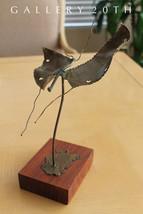 MID CENTURY MODERN BRUTALIST BRONZE BUTTERFLY SCULPTURE Art 50's Eames V... - €583,87 EUR
