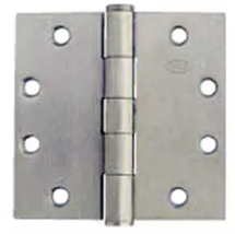 LOT OF 3 IVES DOOR HINGE.218 5PB1 4.5″ X 4.5″ 652 US26D FULL MORTISE HINGE