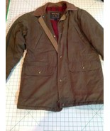 Woolrich Green Flannel Blanket Lining Thermal Insulation Coat Mens Medium - $44.55