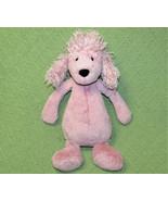 "12"" JELLYCAT PINK FRENCH POODLE MAUVE STUFFED ANIMAL PLUSH PUPPY SOFT BA... - $14.03"