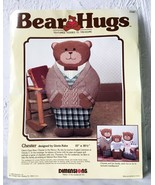 Vintage Bear Hugs Chester Papa Teddy Bear Dimensions Needlepoint Kit  10... - $23.70