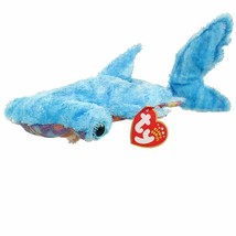 Sledge The Hammerhead Shark Retired Ty Beanie Baby Mint Condition with Tags - $5.89