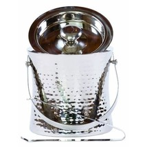 Epicurean Europe Stainless Steel Ice Bucket with Handle and Tongs  - $94.00