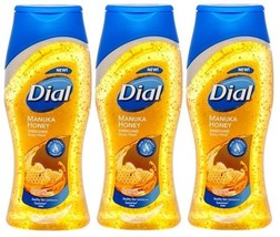 3x Dial MANUKA HONEY Enriched Moisturizing BODY WASH Skin Therapy Comple... - $26.99
