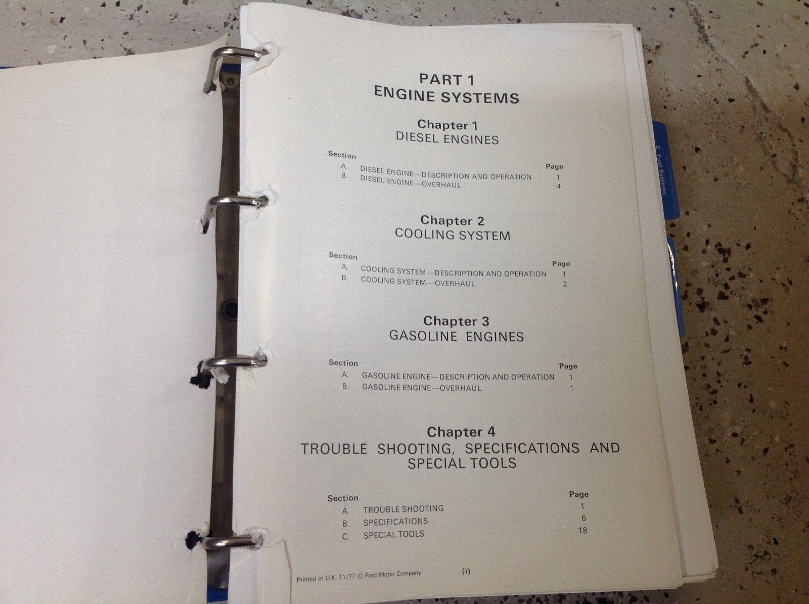 1970s 1974 1975 1976 1977 1978 1979 Ford Tractor Service Repair Shop Manual OEM