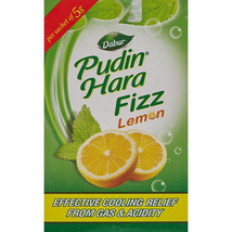 Dabur Pudin Hara Lemon Fizz (40Sachet), 100% Herbal & Ayurvedic product. - $23.99