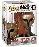 Star Wars Funko POP The Armorer #353 The Mandalorian bobble head figure - $14.99