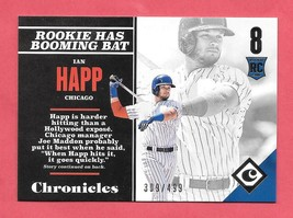 2017 Ian Happ Panini Chronicles Rookie /499 - Chicago Cubs - $1.89