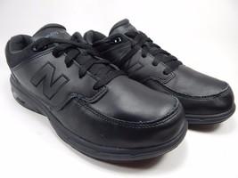 New Balance 813 Men's Walking Shoes Size US 8 4E EXTRA WIDE EU 41.5 MW813BK