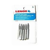 """Lenox 1787602 Bi-Metal Self Feed Pilot Lead Screw Small M6 Fits 1"""" to 1-... - $9.16"""
