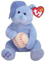 Ty Baby Boy - Bear with Hat and Ball - $18.99