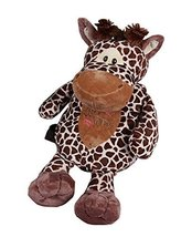 Fashion Infant Animal Knapsack Toddle Backpack Kindergarten School Bag Giraffe