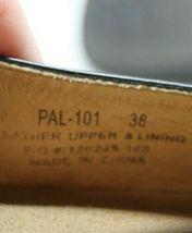 Alegria Size 38 Paloma Black Silver Design Mary Jane Leather Comfort Nurse Shoes image 4