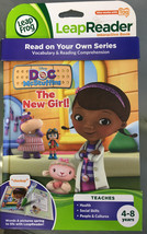 Doc McStuffins The New Girl LeapFrog TAG LeapReader Interactive Book Dis... - $15.94