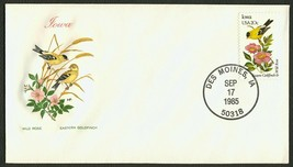 Iowa-Wild Rose & Eastern Goldfinch, HF-Sealed Flap **ANY 4=FREE SHIPPING** - $1.00