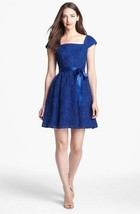 NWT Adrianna Papell Rosette Textured Dress Size 6 - $59.00