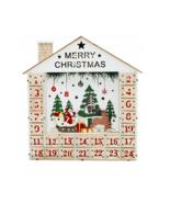 Wooden advent calendar - handmade - Christmas gift - $55.00