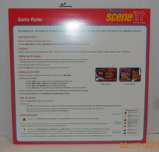 Screenlife TV edition Scene it DVD Board Game Replacement Instruction sheet - $9.50