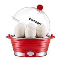 Chefman Electric Egg Cooker/Boiler, Rapid Egg Maker, Countertop, Hard Bo... - €24,61 EUR