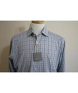 Thomas Dean Men's Long Sleeve Cotton Button Down Dress Shirt size M - $29.69