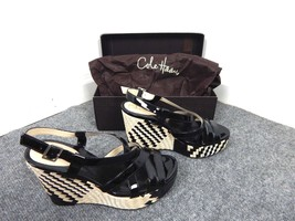Cole Haan Women's Air Genevieve Wedge Platforms Sandals Shoes 8 - $13.50