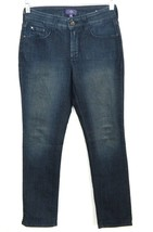Not Your Daughters Jeans NYDJ Petite 'Adriana' 2P Glitter Sparkle Jeans ... - $10.44