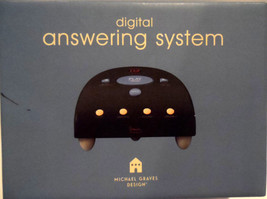 2000 MICHAEL GRAVES 90's TELEPHONE ANSWERING MACHINE New in Box - $41.34