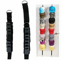 Hat Bag Clothes Organizer Hanging Cap Rack Adjustable Cap Rack Door Back... - $12.90