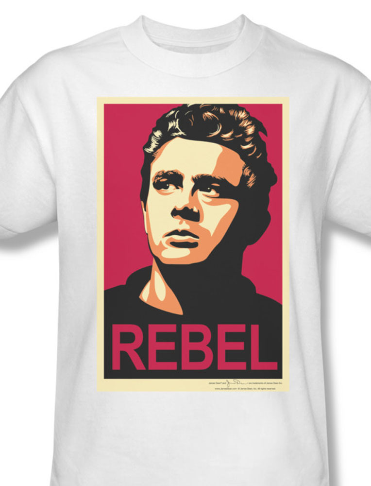 James dean rebel teenage icon actor for sale online graphic white tshirt dea423 at