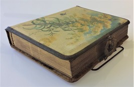 1800s antique CELLUOID paul de longpre PHOTO ALBUM brass CLASP HANDLE empty - $124.95