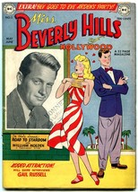 Miss Beverly Hills of Hollywood #2 1949-DC Golden Age- William Holden VG+ - $156.36
