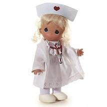 Precious Moments Loving Caring Nurse Doll Blonde The Doll Maker Linda Ri... - $23.33