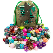 Bag of Tricks: 140 Polyhedral Dice in 20 Complete Sets - $36.47