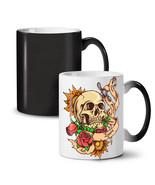Dead Head Rose Knife Stab NEW Colour Changing Tea Coffee Mug 11 oz | Wel... - $19.99