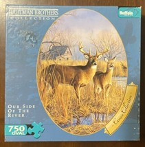 750 Pc Oval Shaped Puzzle Hautman Brothers Collection - Our Side of the ... - $10.29