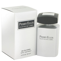 Perry Ellis Platinum Label by Perry Ellis Eau De Toilette Spray 3.4 oz for Men - $27.95