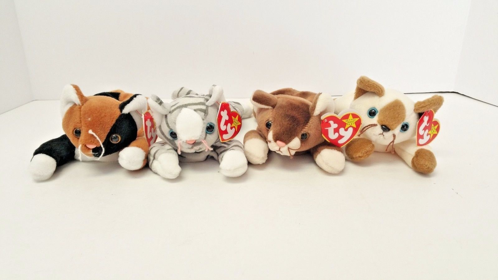 b60cf92dc31 TY Original Beanie Babies Chip Pounce Prance and 50 similar items. 57
