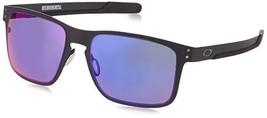 Oakley Holbrook Metal Mtt Blk w/ + Red Irid Sunglasses - $183.00