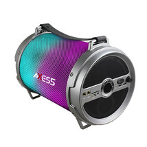 Axess Bluetooth Media Speaker with Wired Mic in Silver - $90.12 CAD