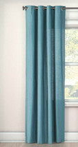 Curtains Threshold Natural Solid Window Curtain Panel Grommets 54 in W x... - $9.89