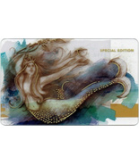 Starbucks 2016 Mermaid In Motion Collectible Gift Card New No Value - $1.99