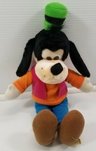 "N) Vintage Disneyland Walt Disney World Goofy Plush 15"" Stuffed Toy - $7.91"