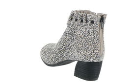 Lori Goldstein Collection Open Toe Booties Ruching Ditsy Animal 11M NEW A302884 image 3