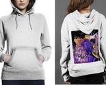 Classic hoodie white women purple rain on guitar thumb155 crop