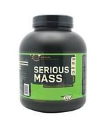 Optimum Nutrition Serious Mass Whey Protein Weight Gainer, Chocolate, 6 ... - $70.90