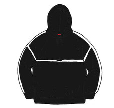 NWT Supreme Warm Up Hooded Sweatshirt Black Size Large - $250.00