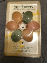 ELIZABETH ARDEN SUNFLOWERS glycerin Soap Six Piece Collection New In Box - $40.00
