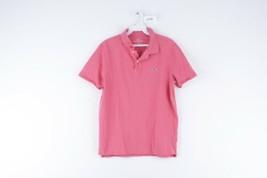Vineyard Vines Mens XS Classic Fit Short Sleeve Polo Golf Shirt Salmon Pink - $29.65