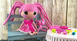 La La Loopsy 2013 Jewel Sparkles Doll With Cat Brush Accessories  - $34.99