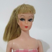 Uneeda Miss Suzette Barbie Bild Lili Clone Doll Dress Blonde Ponytail 1960s - $98.99
